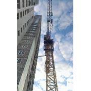 Демонтаж башенных кранов фото