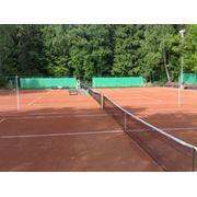 Проектирование строительство теннисных кортов фото