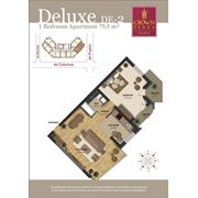 Шикарные 2-х комнатные квартиры делюкс фото
