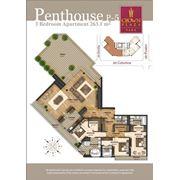Роскошные квартиры в Crown Plaza Park. 4-х комнатные квартиры пентхаус фото