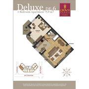 Эксклюзивная недвижимость. 3-х комнатные квартиры делюкс фото