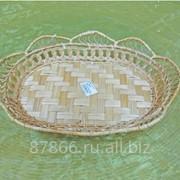 BD Хлебница овальная с расширен. верхом в виде фестонов (34*24*Н6), арт. 893624 фото