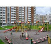 Дизайн детских площадок фото