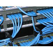 Монтаж структурированных кабельных сетей скс фото