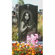 Памятник гранитный памятник гранитное надгробие гранитный цоколь гранитный цветник гранитная ваза  надгробия и памятники из гранита изготовляем на заказ. фото