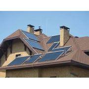 Монтаж систем солнечного электроснабжения гелиосистемы фото