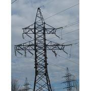 Cтроительство линий электропередач (ЛЭП) фото