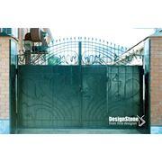 Ковка ворот оград перил оконных решеток фото