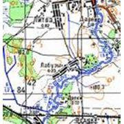 Подготовка картографического материала фото