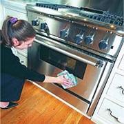 Помыть плиту фото