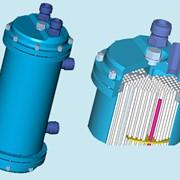 Теплообменник охладитель дизель-генератора фото