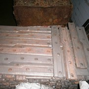 Накладка переходная Р-65/Р-50 литая фото