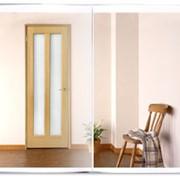 Двери полумассивные шпонированные