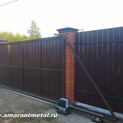 Автоматические ворота в Раменском фото