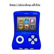 Приставка игровая EXEQ FreeStyle синий (поддежка игр8 16 32бит) Бонус 350 игр фото