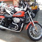 Мотоцикл чоппер No. B4586 Harley Davidson XL883 R фото