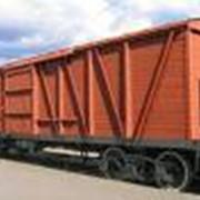 Загрузка в вагоны фото