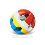 Погремушка-шар яркий разноцветный шар 0 мес+ фото