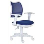 Кресло детское синее  фото