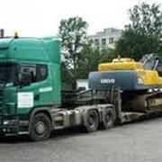 Перевозка негабаритных грузов фото