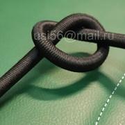 Шнур эспандерный 16-ти прядный 8 мм черный фото