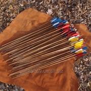 Стрела для лука бамбуковая фото