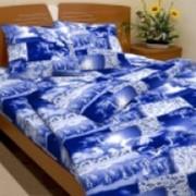 Ткань постельная Бязь 125 гр/м2 150 см Набивная Снежные барсы 2339-1/S TDT фото