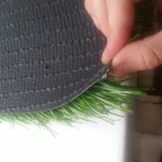 Укладка и монтаж искусственного газона фото
