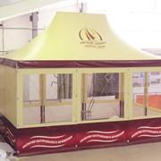 Павильон выставочный тентовый, шатер, палатка для выставки фото