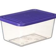 Ёмкость для продуктов прямоугольная 4л. IDEA М1455, Фиолетовый фото