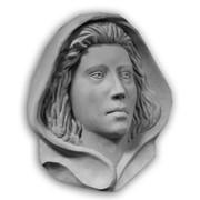 """Барельеф """"Дева Мария"""" фото"""