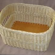 Короб плетеный из лозы фото
