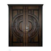 Входные двери с художественной резьбой 17 фото