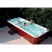 СПА-бассейн плавательный с гидромассажем Swim Spa WS- S06 Размер 5890х2260мм, глубина 1110мм фото