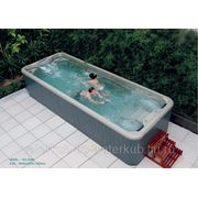 СПА-бассейн плавательный с гидромассажем Swim Spa WS- S06В Размер 5840х2240мм, глубина 1250мм фото