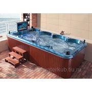 СПА-бассейн плавательный с гидромассажем Swim Spa WS- S04Х Размер 4030х2300мм, глубина 950мм фото