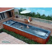СПА-бассейн плавательный с гидромассажем Swim Spa WS- S10 Размер : 10000х2240мм , глубина 1420 мм фото