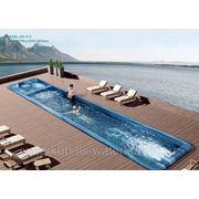 СПА-бассейн плавательный с гидромассажем Swim Spa WS- S12 Размер: 11780х2240мм , глубина 1600мм фото