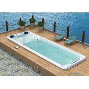 СПА-бассейн плавательный с гидромассажем Swim Spa WS- S08В Размер 7840х2240мм, глубина 1130мм фото