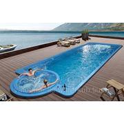 СПА-бассейн плавательный с гидромассажем Swim Spa WS- Р12 Размер 11800х4200мм, глубина 1730мм фото