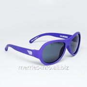 Солнцезащитные очки Babiators Original Пилот Pilot фиолетовый 3-7+ . Арт. BAB-048 фото