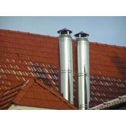 Изготовление и монтаж дымоходов и вентиляции фото