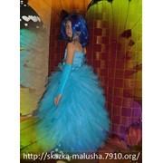 Детское бальное платье Огонек фото