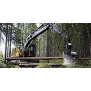 Харвестеры. Volvo EC210BF Prime лесозаготовительная техника фото
