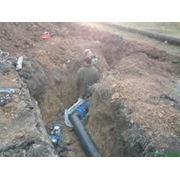 Строительство водопроводных сетей фото