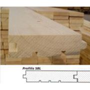 Доски половые деревянные в Литве фото