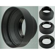 Резиновая бленда 55 мм фото