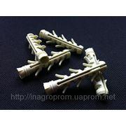 Дюбель ZUBR 10х50 mm усиленный,4 пары зубьев,удлинненная рабочая часть фото