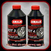 Тормозные жидкости Amalie (DOT 3 и DOT 4) фото
