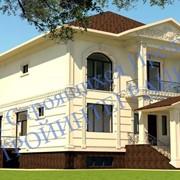 Эскизное проектирование дизайна интерьера, жилой дом фото